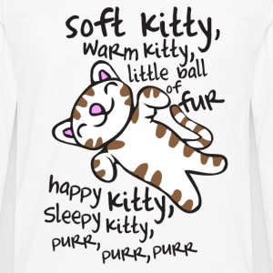 Soft Kitty -  - Men's Premium Longsleeve Shirt