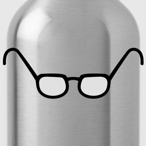 glasses T-Shirts - Trinkflasche