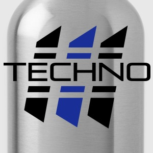 techno_03 T-Shirts - Trinkflasche