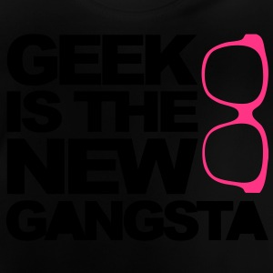 Geek Gangsta Kinder shirts - Baby T-shirt