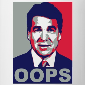 Rick Perry Oops - Taza