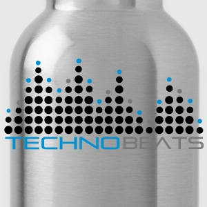 techno_beat_01 Pullover - Water Bottle