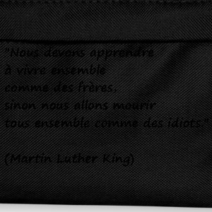 t-shirt citation Martin Luther King - Sac à dos Enfant