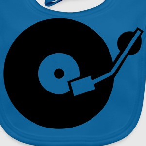 DJ Turntable Kinder T-Shirts - Baby Bio-Lätzchen
