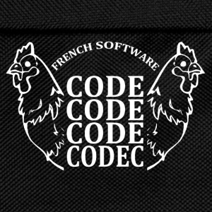French software code code code codec - Sac à dos Enfant
