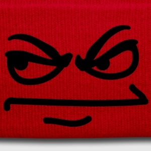 angry_face T-shirt - Cappellino invernale