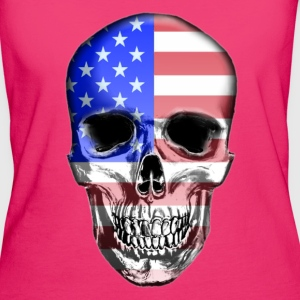 USA Skull - Women's Organic T-shirt
