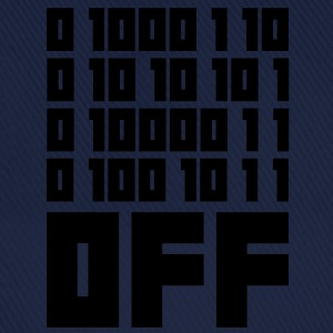 Fuck OFF - Binary Code Tee shirts - Casquette classique
