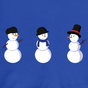 Peacock-blue snowman Bags  - Women's Tank Top by Bella
