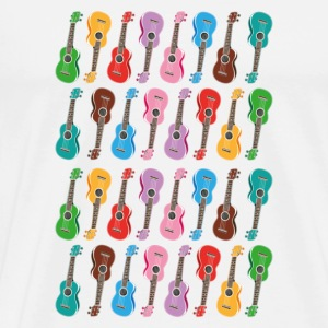 colorful ukulele - Männer Premium T-Shirt