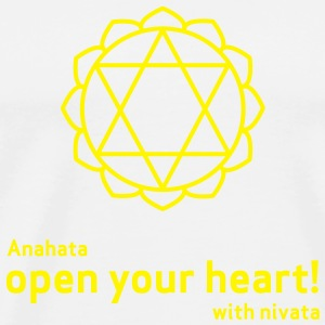 open your heart! - Männer Premium T-Shirt