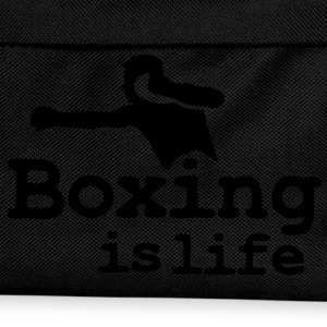 Boxing is life with boxer Casquettes et bonnets - Sac à dos Enfant