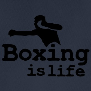 Boxing is life with boxer Gensere - Pustende T-skjorte for menn