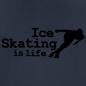 Ice skating is life with speed skater Hoodies & Sweatshirts - Men's Breathable T-Shirt