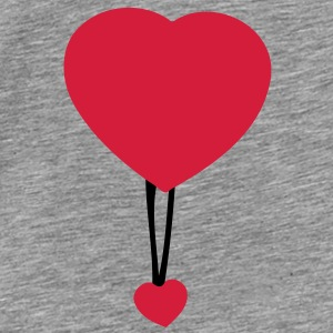 Double heart (2c) Accessories - Men's Premium T-Shirt