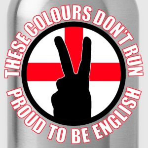 These Colours Don't Run (England) T-Shirts - Water Bottle