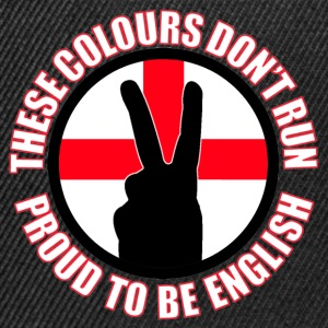 These Colours Don't Run (England) T-Shirts - Snapback Cap