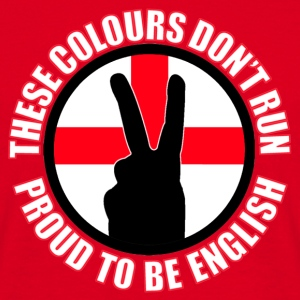 These Colours Don't Run (England) Bags  - Men's T-Shirt