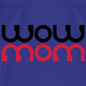 AMBIGEAM WOW MOM | Trainingstasche - Männer Premium T-Shirt