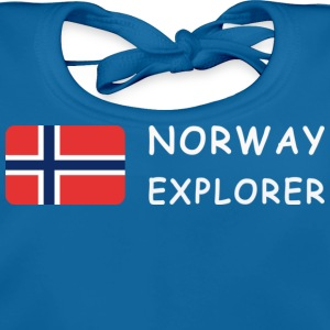 Teenager T-Shirt NORWAY EXPLORER white-lettered - Baby Organic Bib