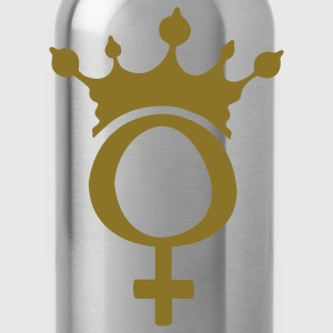 Lady queen - Trinkflasche