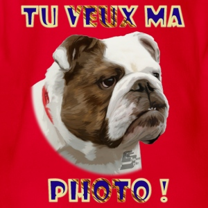 bulldog 1b by customstyle Tee shirts Enfants - Body bébé bio manches courtes