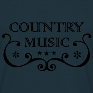 Country Western Music * Folk rockmusik Old Style Tröjor - T-shirt herr