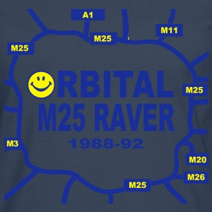 Orbital M25 Acid Hosue Raver Hoodies & Sweatshirts - Men's Premium Longsleeve Shirt