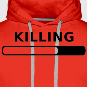 Killing Progress T-Shirts - Men's Premium Hoodie