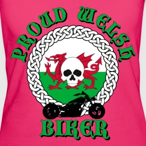 Proud Welsh Biker Bags  - Women's Organic T-shirt