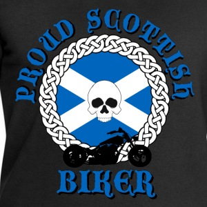 Proud Scottish Biker T-Shirts - Men's Sweatshirt by Stanley & Stella