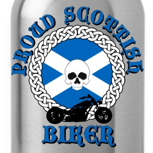 Proud Scottish Biker T-Shirts - Water Bottle