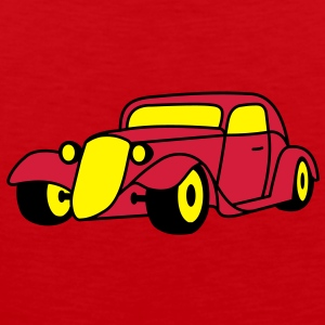 3 colors - Hot Rod Oldtimer Custom Cars Automobil Tuning Camisetas - Tank top premium hombre