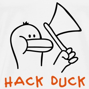 Hack Duck Babybody - Premium T-skjorte for menn