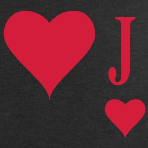 Heart Joker | joker of hearts | J T-Shirts - Men's Sweatshirt by Stanley & Stella