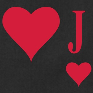 Heart Joker | joker of hearts | J T-Shirts - Grembiule da cucina