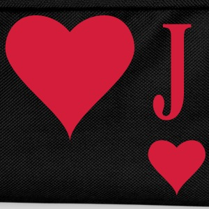 Heart Joker | joker of hearts | J T-Shirts - Zaino per bambini