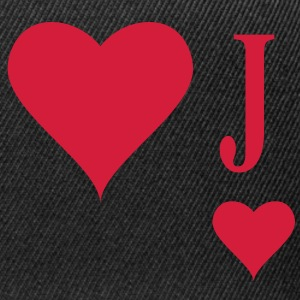 Heart Joker | joker of hearts | J T-Shirts - Casquette snapback