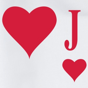 Heart Joker | joker of hearts | J T-Shirts - Gymtas