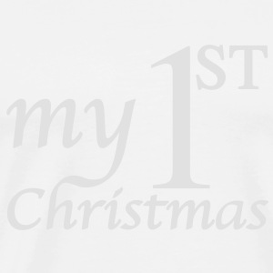Babybody : My First Christmas - Babys erstes Weihnachten - Mein erstes Weihnachten - Men's Premium T-Shirt