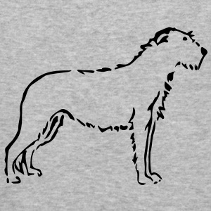 Irish Wolfhound Pullover - Männer Slim Fit T-Shirt