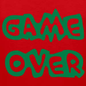 Game Over T-Shirts - Men's Premium Tank Top
