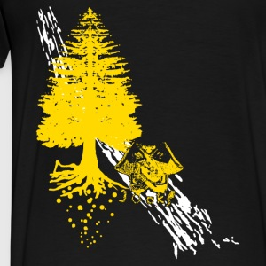 freeride in the woods Jacken - Männer Premium T-Shirt