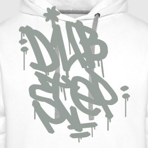 Dubstep Tag T-Shirts - Men's Premium Hoodie