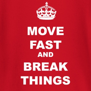 MOVE FAST AND BREAK THINGS T-Shirts - Baby Long Sleeve T-Shirt