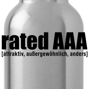 rated AAA M - Trinkflasche