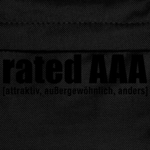 rated aaa T-Shirts - Kinder Rucksack