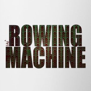 Rowing Machine Mort Vestes - Tasse