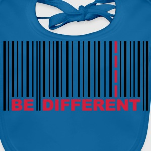 Be Different - Codice a barre - Barcode T-shirt bambini - Bavaglino