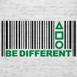 Be Different - Barcode - Simboli - Codice a barre Felpe - Top da donna della marca Bella
